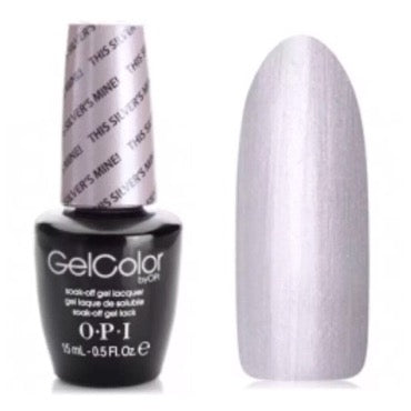 OPI GelColor - This Silvers Mine 15 ml