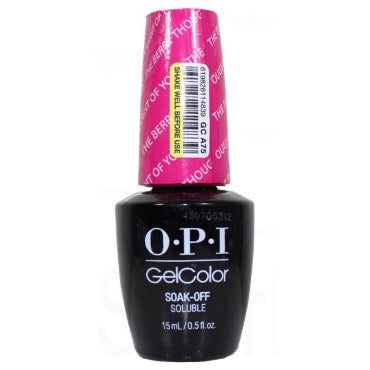 OPI GelColor - The Berry Thought Of You 15ml