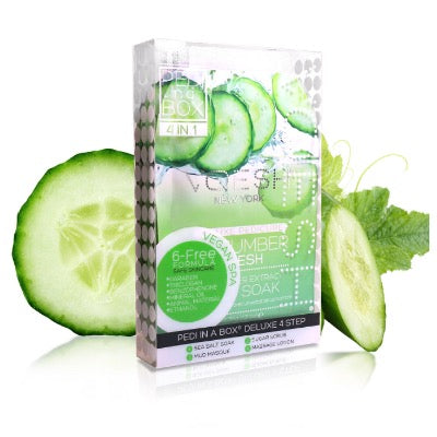 VOESH Pedi In A Box 4 In 1 Kit - CUCUMBER FRESH