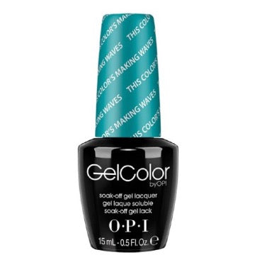 OPI GelColor - This Color's Making Waves 15 ml