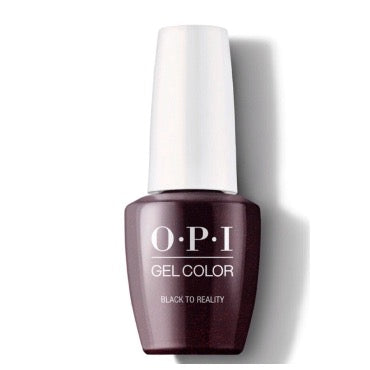 OPI GelColor - Black To Reality