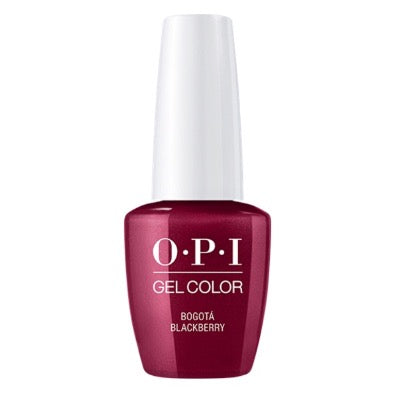OPI GelColor - Bagota Blackberry 15 ml