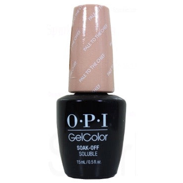 OPI GelColor - Pale To The Chief 15 ml