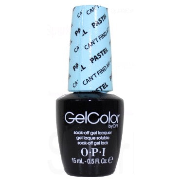 OPI GelColor - Can't Find My Czechbook (The Pastel) 15 ml