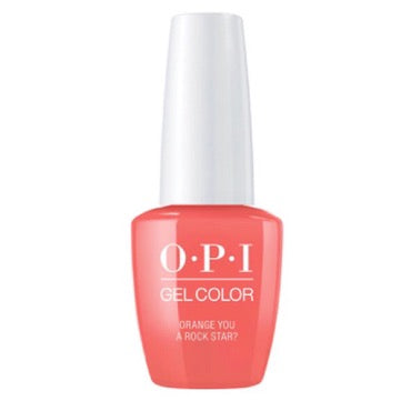 OPI GelColor - Orange You A Rock Star?