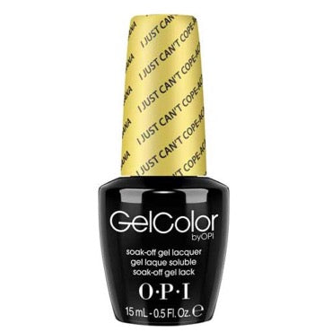 OPI GelColor - I Just Can't Cope-acabana 15 ml