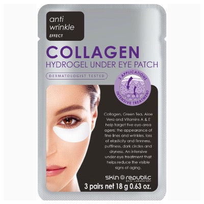 Skin Republic Under Eye Mask Collagen.       (3 pairs)