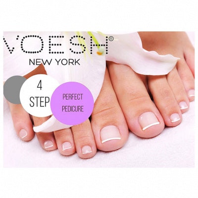 VOESH Pedi In A Box Deluxe 4 In 1 Kit - VITAMIN Recharge  PInk Grapefruit