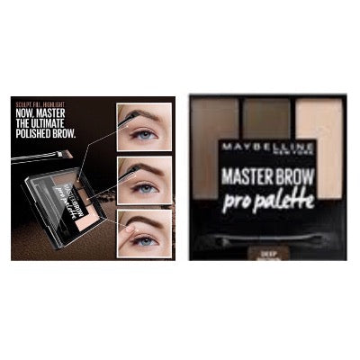 Maybelline Master Brow Pro Pallete Kit - Deep Brown