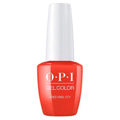 OPI GelColor A Red Vival City - Lisbon Collection 15 ml