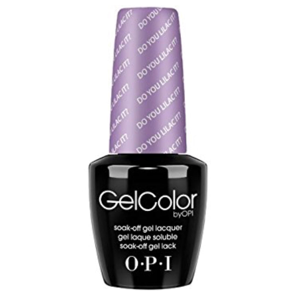 OPI GelColor - Do You Lilic It? (Pastel)