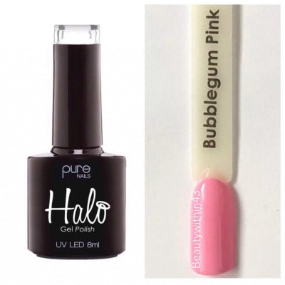 Halo Gel Polish 8ml - Bubblegum Pink