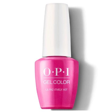 OPI GelColor - La Paz-itively Hot