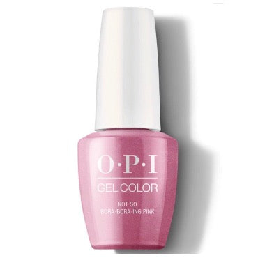 OPI GelColor - Not So Bora-bora-ing Pink
