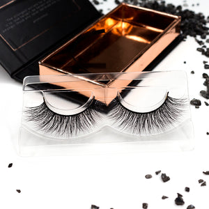 gene false mink lash goddess model 3d cutie