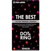 Fuji Latex The Best Dot & Ring 凸粒 + 橫紋(10片裝)
