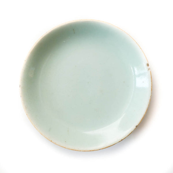 Qing Dynasty Green Plate