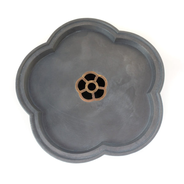 Pewter Gongfu Tea Tray (cherry)