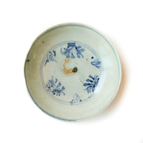 Ming Dynasty Plate  (Fish and seaweed)