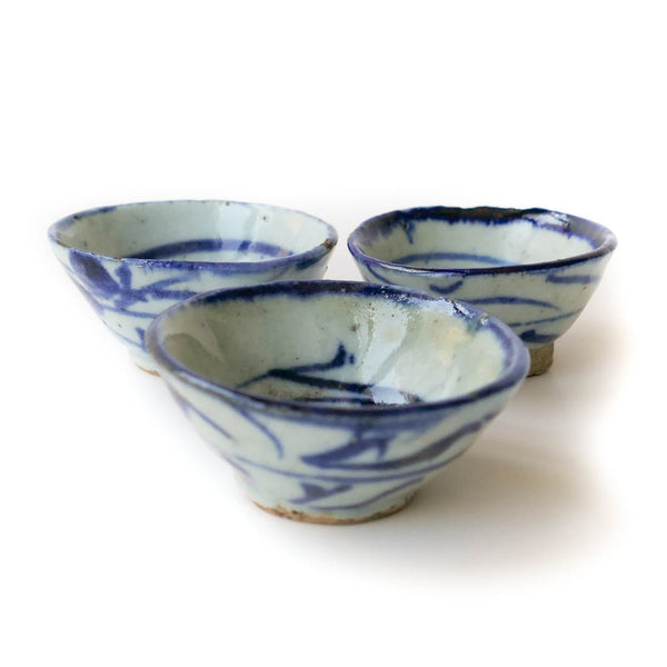 Qing Dynasty Cup Small (seaweed)