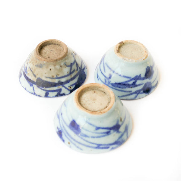 Qing Dynasty Cups Medium (seaweed)
