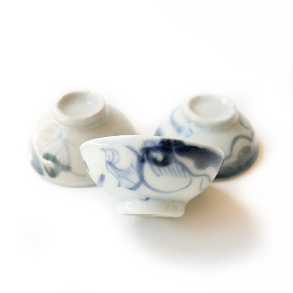 "Qing Dynasty ""Dragon"" Cup 20ml-25ml"