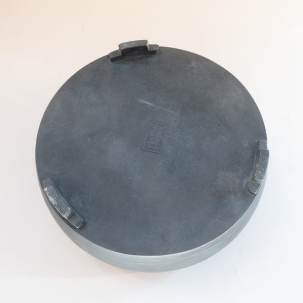 Pewter Gongfu Tea Tray (drum)