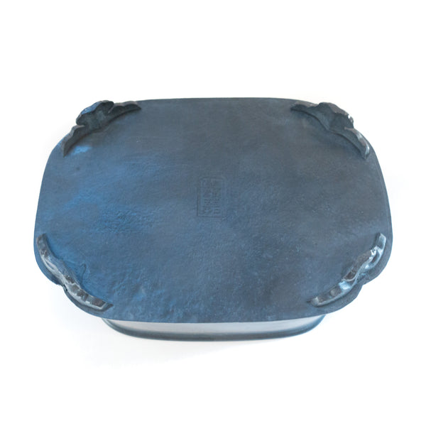Pewter Gongfu Tea Tray (square)