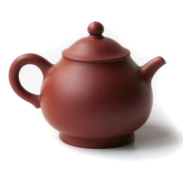 135ml Yixing Panhu (潘壶)Hong Ni Tuiban Tea Pot