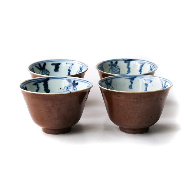 65ml Qing Dynasty Batavia Glaze cups