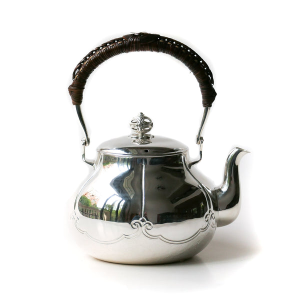 720ml 放下 Silver Kettle (Ginbin) Pure Silver .999