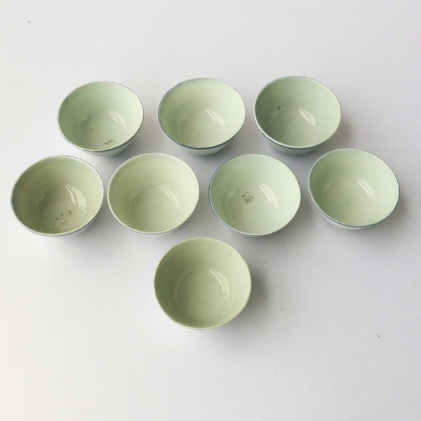 45ml Qing Dynasty Blue Line cups