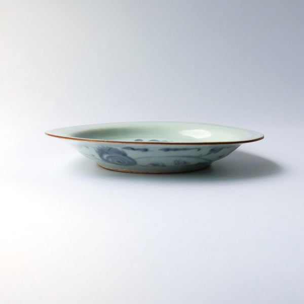 18cm Ming Dynasty Plate/Tea Boat