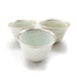 Silver-rimmed Dehua Antique Cups