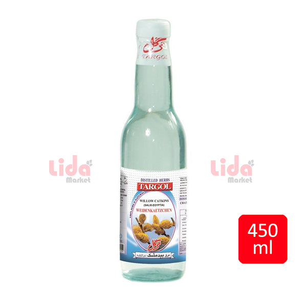 Targol willow catkins water 450 ml | عرق بیدمشک ترگل