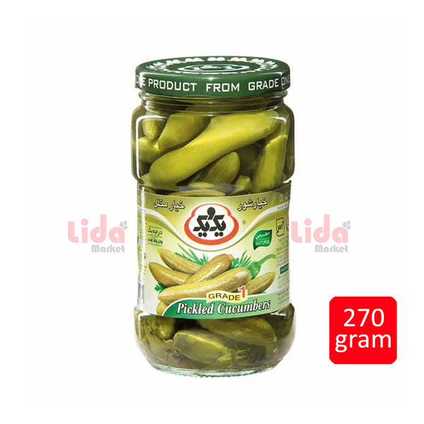 1&1 Pickled Cucumber 270 gr  | خیار شور یک و یک