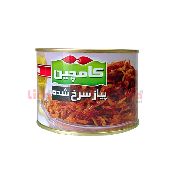 Kamchin Canned Fried Onion 450 gr | پیاز سرخ شده کامچین