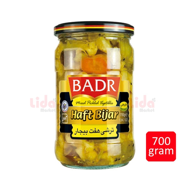 Mixed Pickled Vegetables Haft Bijar   | ترشی هفت بیجار بدر - LASI Online