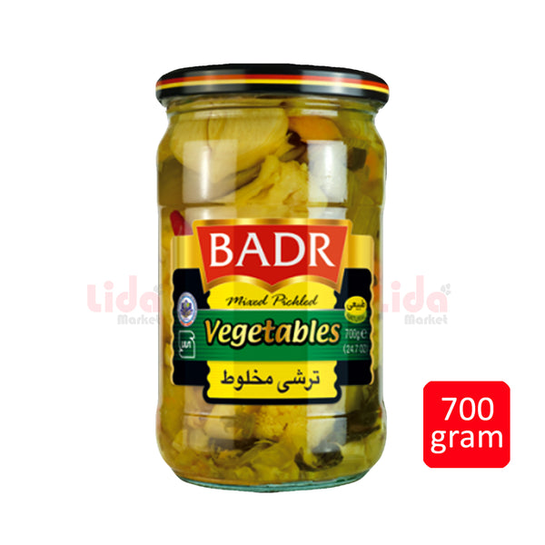 Mixed Pickle Vegtables | ترشی مخلوط  بدر - LASI Online