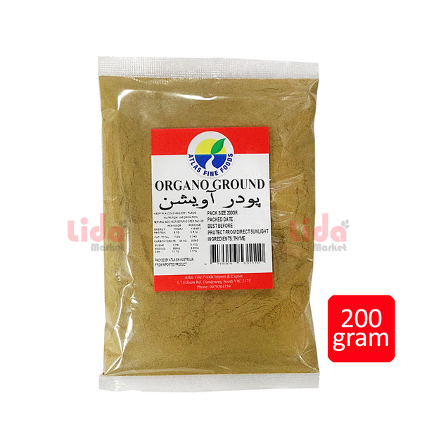 Oregano Ground 200 gr | پودرآویشن