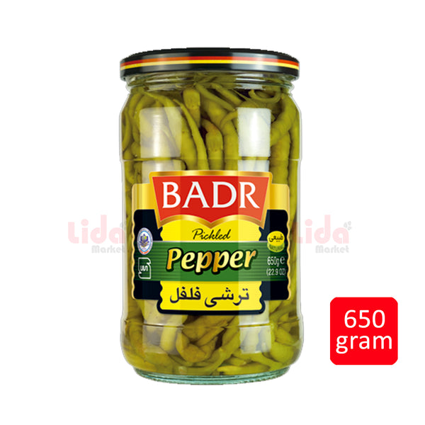 Pickled Pepper | ترشی فلفل بدر - LASI Online