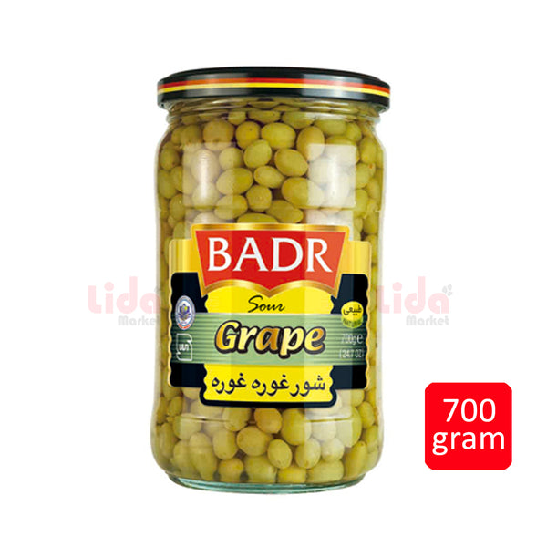 Sour Grape |   شور غوره بدر - LASI Online