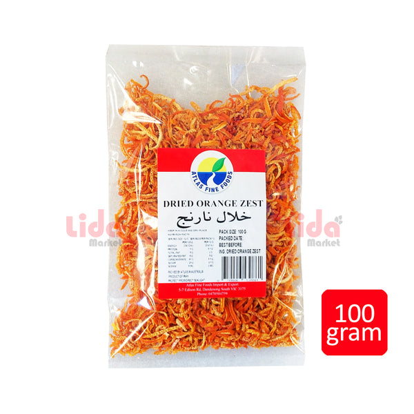 Dried Orange Zest 100 gr | خلال نارنج