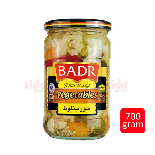 Salted Pickled Vegetable | شور مخلوط بدر - LASI Online