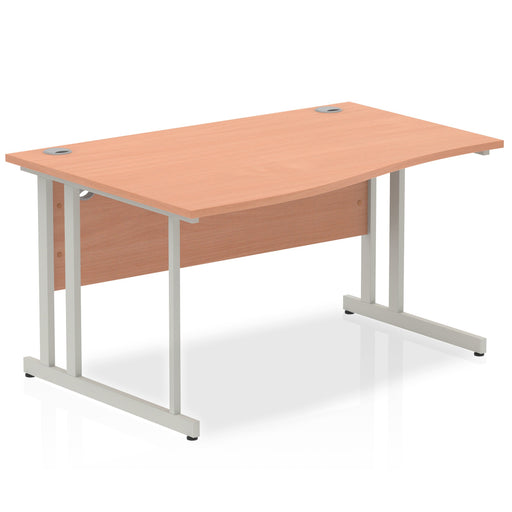 Right/Left Wave desk - Available in 4 finishes!