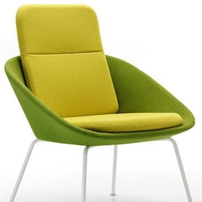 Ocee Design Dishy High Back 4 Leg Chair