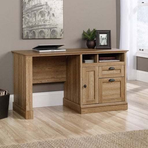 Home Office Oak Storage Desk