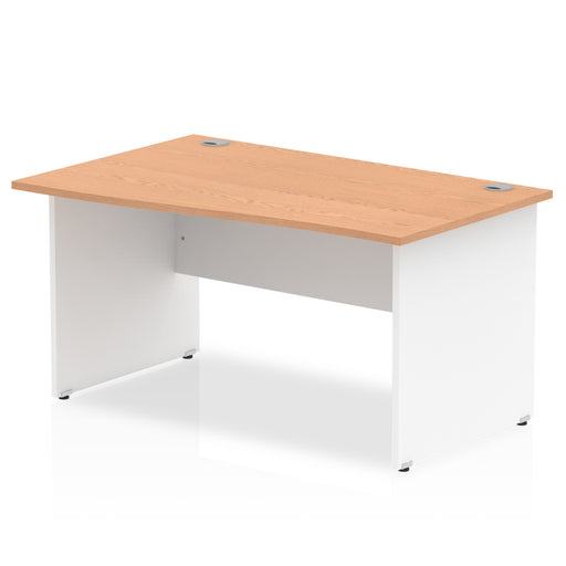 Wave desk - Pael end legs - Available in 4 finishes!