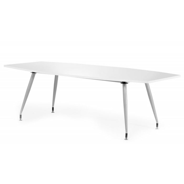 High Gloss Meeting Room Table 1800mm - White