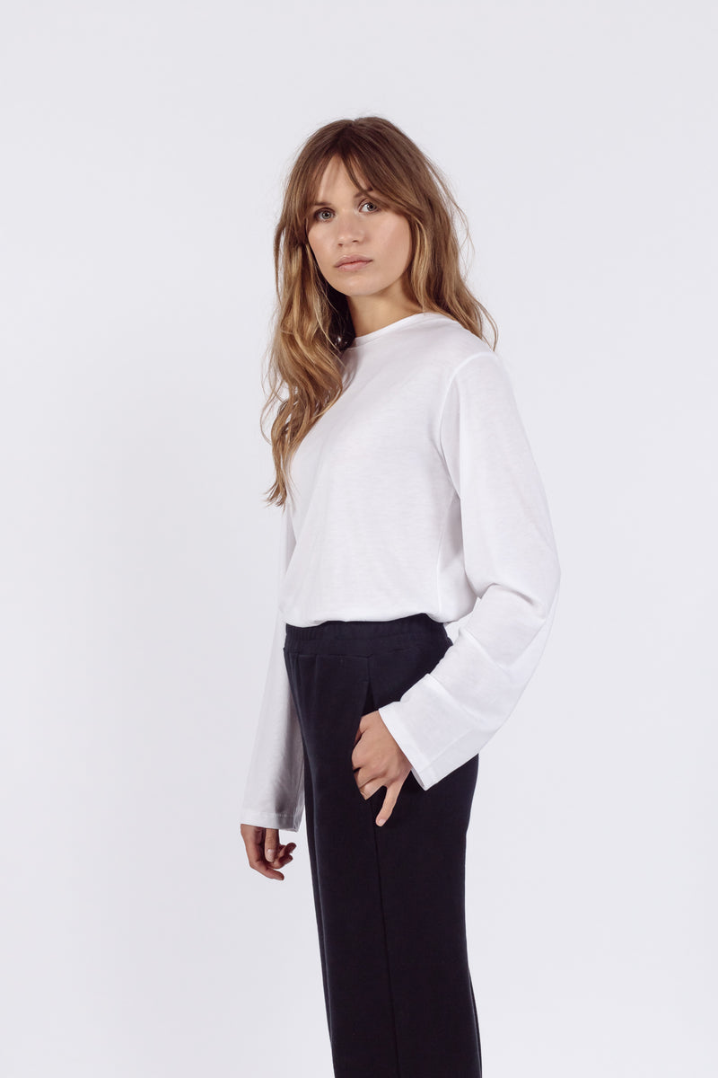 Cosy Long sleeved t-shirt | White